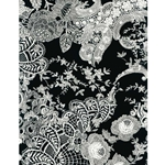 Decopatch Decoupage Paper - Floral - BLACK/WHITE