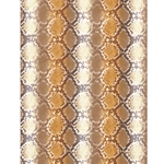 Decopatch Decoupage Paper - Snake Scales - ORANGE/BROWN
