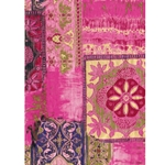 Decopatch Decoupage Paper - Quilt - PINK/PURPLE