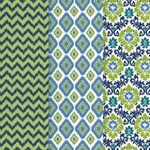 Americana Decou-Page Paper Design Pack - IKAT
