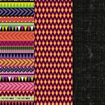Americana Decou-Page Paper Design Pack - TRIBAL