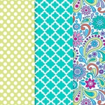 Americana Decou-Page Paper Design Pack - PAISLEY PUNCH