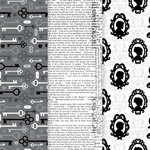 Americana Decou-Page Paper Design Pack - VINTAGE SILHOUETTE