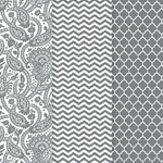 Americana Decou-Page Paper Design Pack - SILVER TRENDS