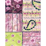 Decopatch Decoupage Paper - Patches - GREEN/PINK