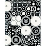Decopatch Decoupage Paper - Geometric - BLACK/WHITE