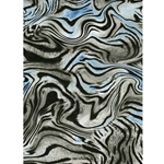 Decopatch Decoupage Paper - Funky Zebra - BLACK/WHITE/BLUE