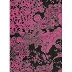Decopatch Decoupage Paper - Lace - BLACK/FUCHSIA
