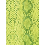 Decopatch Decoupage Paper - Snake Skin - GREEN