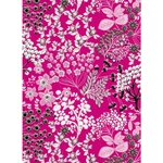 Decopatch Decoupage Paper - Blossoms - FUCHSIA/WHITE