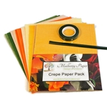 Crepe Paper Flower Pack- YELLOW