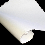 Indian Cotton Paper - Solid - WHITE