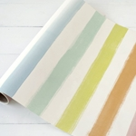 Paper Table Runner Roll - PAINTED STRIPE