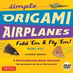 Mini Origami Airplanes Kit