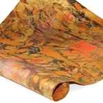 Traditional Thai Marbled Paper And Marbled Momi Papers
