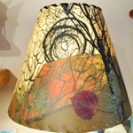 Mulberry Paper Lampshades