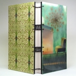 COPTIC BOUND JOURNAL WITH ENCAUSTIC COVER