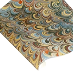 Marbled Indian Cotton Rag Paper - MOVED - MULTI COLOR