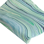 Thai Marbled Paper - BLUE/GREEN