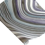 Thai Marbled Paper - PURPLE/GRAY