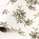 Paper Table Runner Roll - HOLLY - 20 Inches x 25 Feet