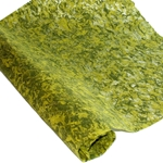 Thai Kozo Fibers Paper - LIME/OLIVE GREEN