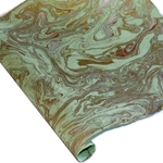 Marbled Lokta Paper - GOLD/SILVER/COPPER ON MINT