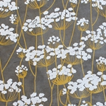 Lokta Paper Origami Pack - Silkscreened Nepalese Lokta Paper - Flowering Twigs - WHITE ON SLATE