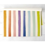 Paper Placemats - PASTEL PAINTED STRIPE