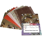 Japanese Washi Decorative Paper Pack - NEUTRALS