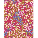 Decopatch Decoupage Paper - Flowers - RED/BLUE/PURPLE