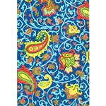 Decopatch Decoupage Paper - Paisley - BLUE/YELLOW/RED