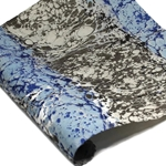 Marbled Lokta Paper - Stone - BLUE/BLACK