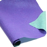 Thai Reversible Unryu Paper - PURPLE/AGEAN GREEN