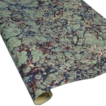 Italian Marbled Paper - STONE - Red/Blue/Green