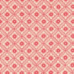Italian Carta Varese Paper - FLOWER IN DIAMOND - Red