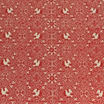 Italian Carta Varese Paper - BIRD - Red