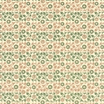 Italian Carta Varese Paper - Flowers - GREEN AND BROWN
