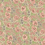 Italian Carta Varese Paper - Flourished Rose - PINK AND GREY