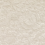 Indian Embossed Paper - ROSE - ANTIQUE WHITE