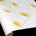 Heavyweight Mulberry Paper - Angel Wing - SUNSHINE YELLOW