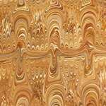 Italian Marbled Origami Paper - SOUNDWAVE - Tan