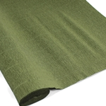 Italian Crepe Paper - OLIVE GREEN