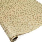 Embossed Nepalese Lokta Paper - DOTS - Sand