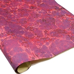 Italian Marbled Paper - SPECKLED STONE - Red/Purple