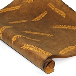 Nepalese Lokta Paper - Sun Washed Fern - BROWN AND GOLD