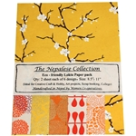 Handmade Nepalese Lokta Paper Pack - YELLOW/ORANGE