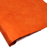 Heavy Weight Nepalese Lokta Paper - BRIGHT ORANGE