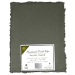 Handmade Deckle Edge Indian Cotton Paper Pack - ARMY GREEN