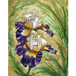 ALCOHOL INK FLORAL PAINTINGS